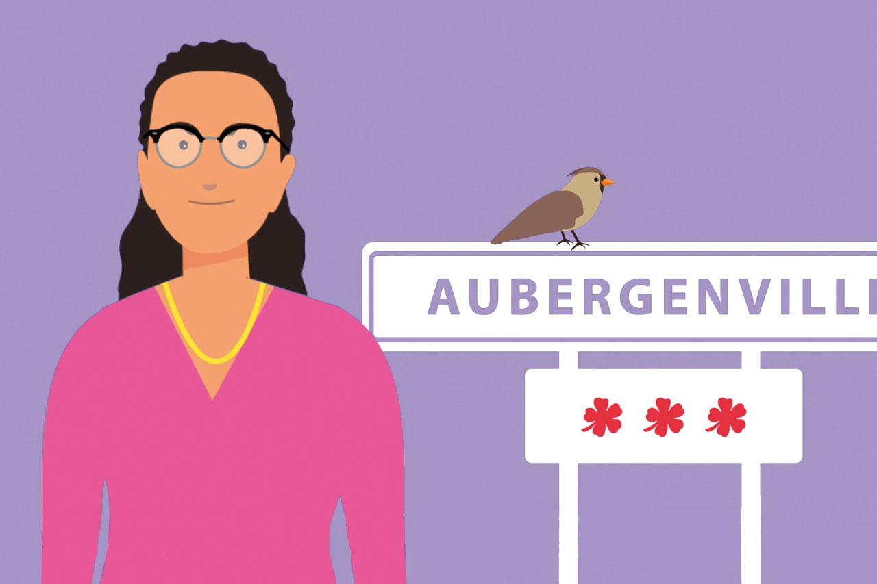 Création de vidéos d'animation d'avatars d'élus mairie d'Aubergenville
